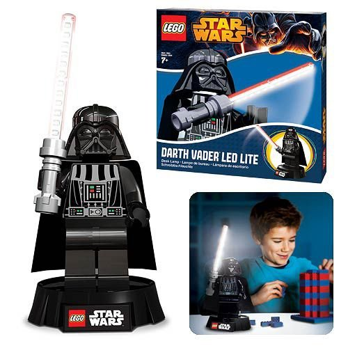 Lampada de Estudos LEGO Star Wars Darth Vader Desk Lamp