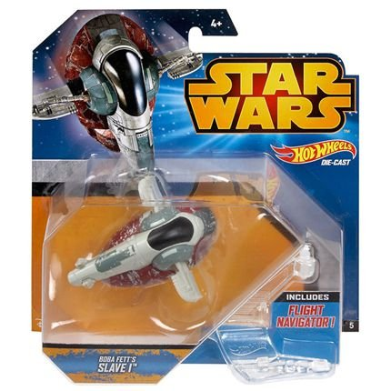 Hot Wheels Star Wars Episode VII Vehicle Deluxe Boba Fett