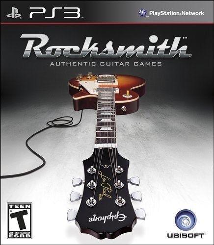 Rocksmith Guitar and Bass Somente jogo PS3
