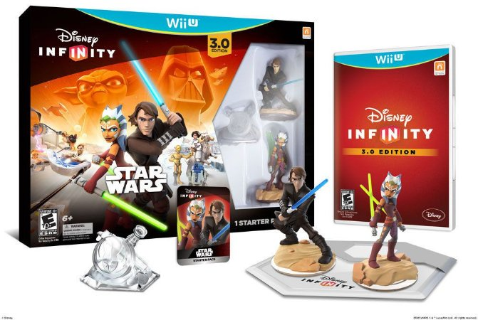 Disney Infinity 3.0 Star Wars Starter Pack Wii U