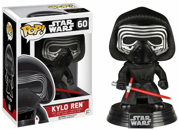 Funko Pop Star Wars The Force Awakens 60 Kylo Ren Lightsaber