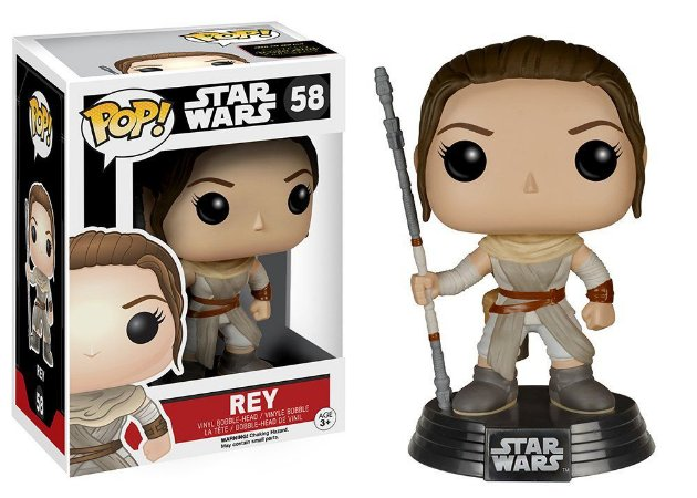 Funko Pop Star Wars The Force Awakens 58 Rey
