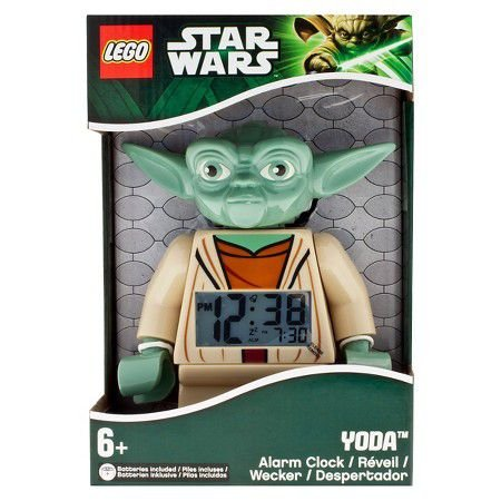LEGO kids Star Wars Figure Alarm Clock Yoda