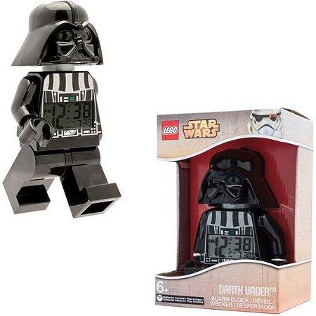 LEGO kids Star Wars Figure Alarm Clock Darth Vader