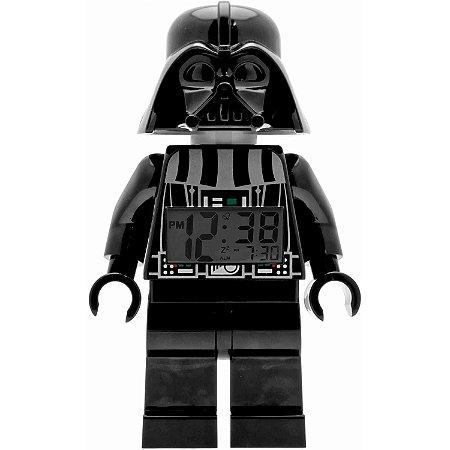 LEGO Star Wars Figure Alarm Clock Darth Vader Relógio