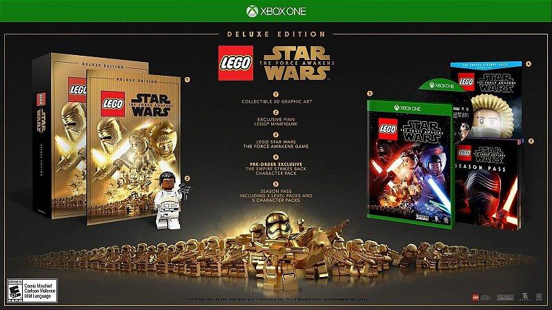 Lego Star Wars: Force Awakens Deluxe Edition + Lego Finn - Xbox One