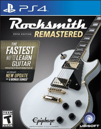 Rocksmith 2014 Remastered C/ Cabo - Ps4