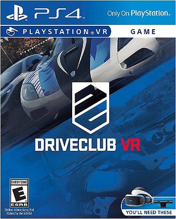 PSVR DriveClub - PS4 VR
