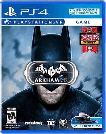 Batman: Arkham VR - PS4 VR