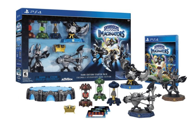 Skylanders Imaginators Dark Edition Starter Pack - PS4