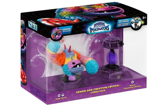 Skylanders Imaginators Sensei Bundle Painyatta Pain-yatta + Magic Crystal