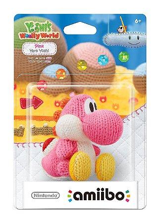 Amiibo Pink Yarn Yoshi (Yoshi's Woolly Series)