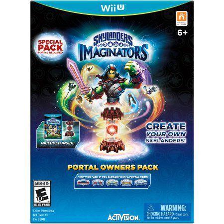 Skylanders Imaginators Portal Owners Pack - Wii U