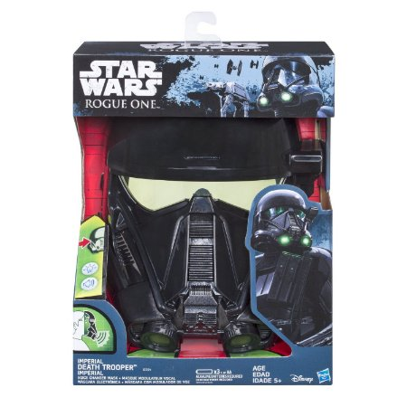 Máscara Imperial Death Trooper Star Wars Rogue One - Sons e Muda Voz