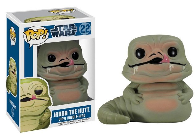 Funko POP Star Wars 22 BOBBLE Jabba the Hutt