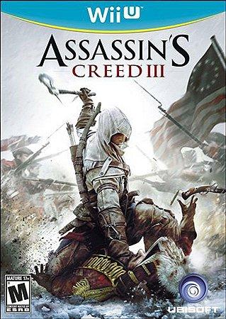 Assassin's Creed III Creed 3 - Wii U