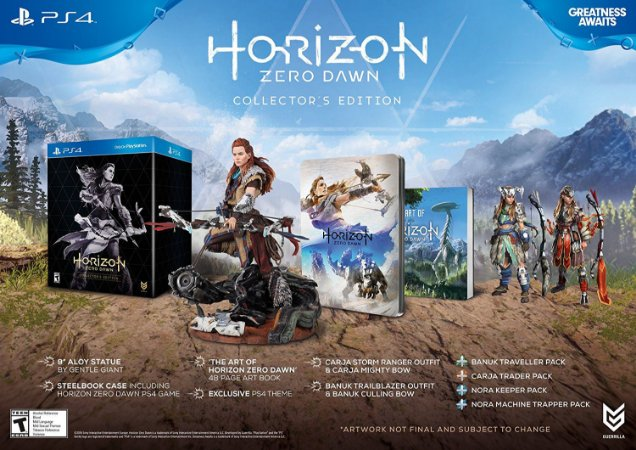 Horizon Zero Dawn Collector's Edition - PS4