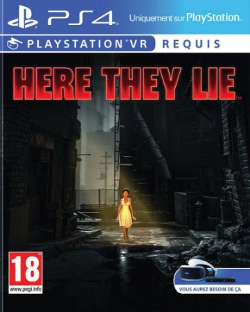 Here They Lie - C/ VR Mode - PS4
