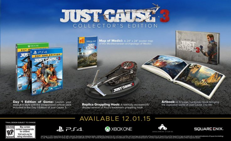 Just Cause 3 Collector's Edition - PS4