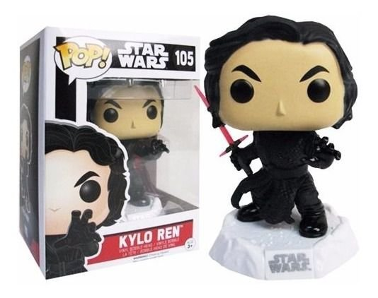 Funko Pop Star Wars The Force Awakens 105 Kylo Ren