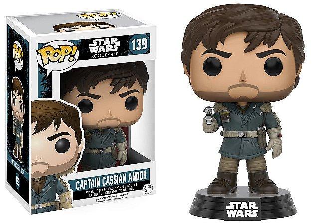 Funko Pop Star Wars 139 Rogue One Captain Cassian Andor
