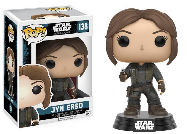 Funko Pop Star Wars 138 Rogue One Jyn Erso