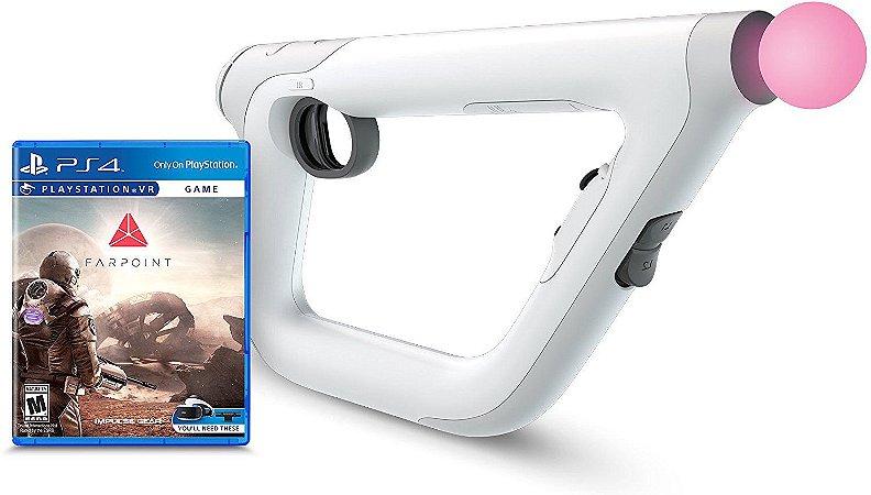 PSVR Aim Controller Farpoint Bundle - PS4 VR