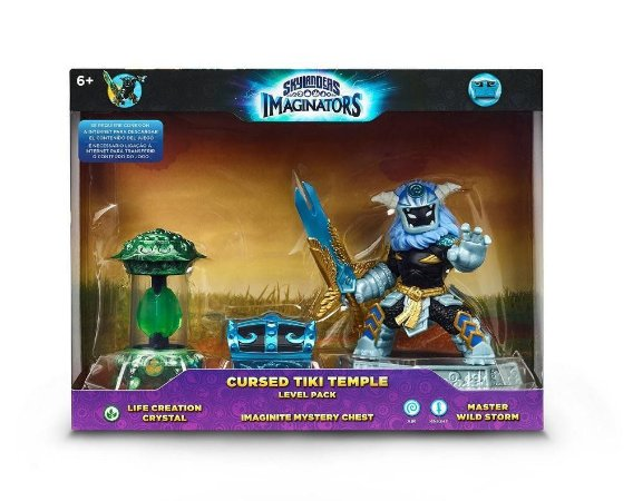 Skylanders Imaginators Adventure Pack Cursed Tiki Temple