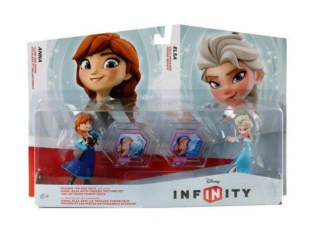 Disney Infinity Frozen Toy Box Set Anna e Elsa