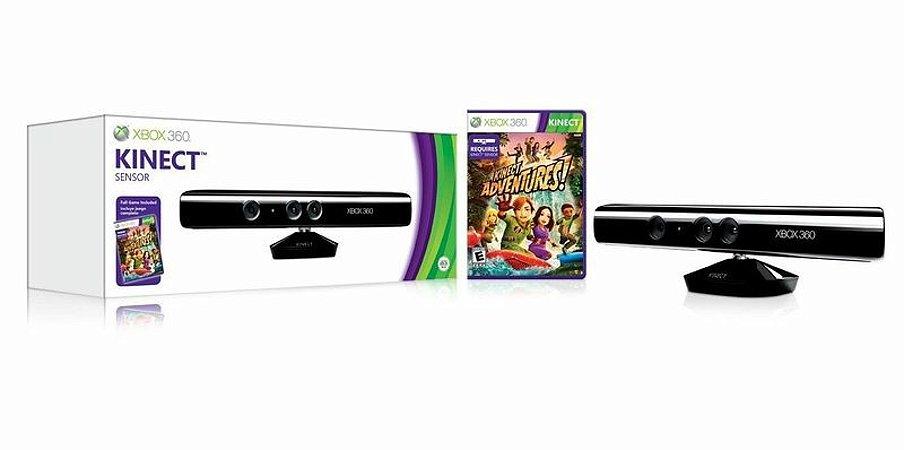Kinect Sensor com Kinect Adventures