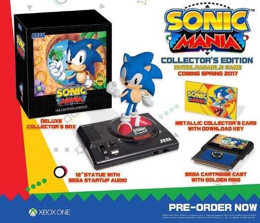 Sonic Mania Collector's Edition - Xbox One
