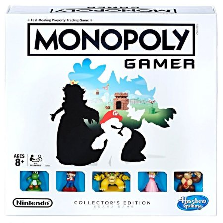 Monopoly Gamer Collectors Edition Super Mario - Hasbro (Inglês)