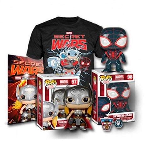 POP Funko Collectors Box Marvel Secret Wars