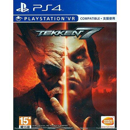 Tekken 7 c/ VR Mode - PS4