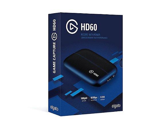 Elgato Game Capture HD60 Ps4 XboxOne Xbox 360 Wii U gameplay Full HD 1080p 60fps