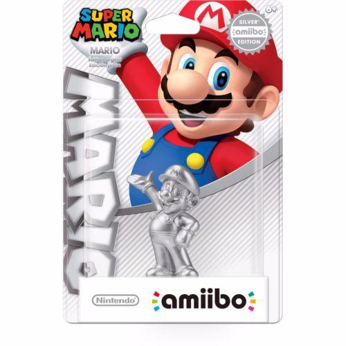 Amiibo Mario Silver Edition