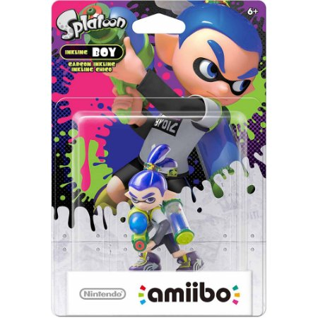 Amiibo Inkling Boy Splatoon