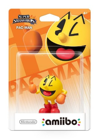 Amiibo Pac-man Super Smash Bros