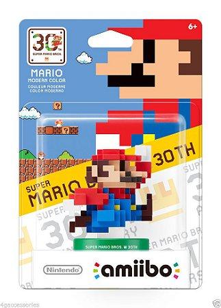 Amiibo Mario 8 Bits Modern