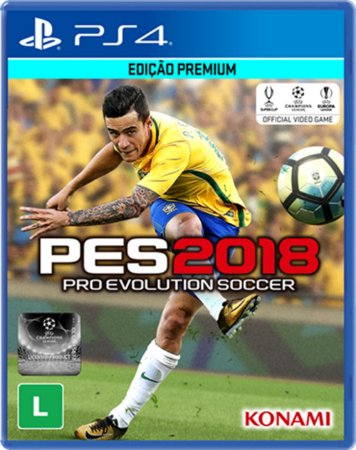 Pro Evolution Soccer 2018 - PES 2018 - PS4