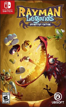 Rayman Legends Definitive Edition - Switch