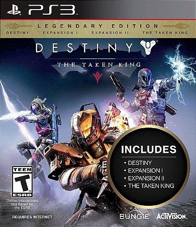 Destiny The Taken King Legendary Edition - Ps3