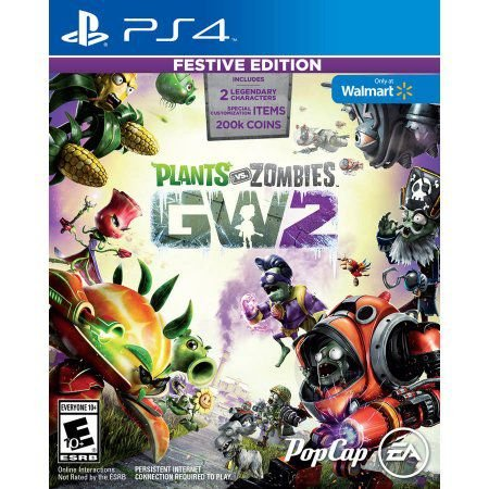 Plants vs Zombies Garden Warfare 2 Festive Edition - PS4