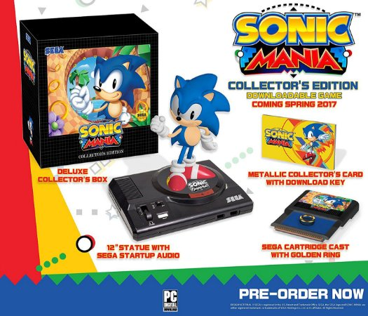 Sonic Mania: Collector's Edition - PC - Steam