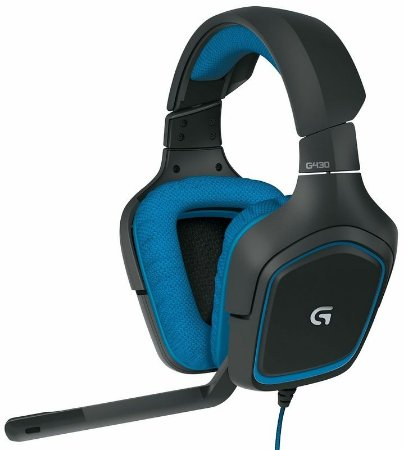 Logitech G430s Surround Gaming Headset Dolby 7.1