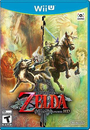 The Legend of Zelda Twilight Princess HD c/ Wolf Link Amiibo - Wii U