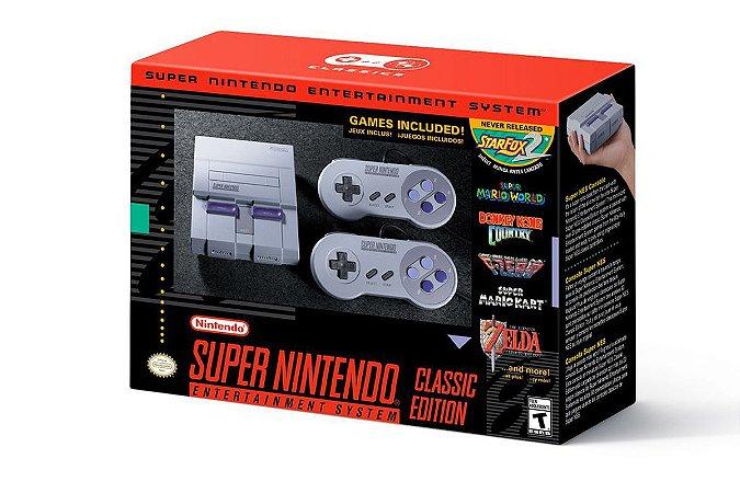 Console Super NES Classic Edition SNES Super Nintendo