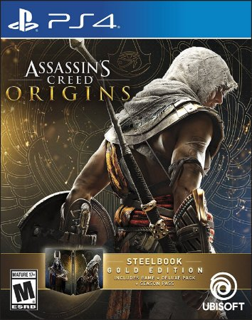 Assassins Creed Origins SteelBook Gold Edition - PS4