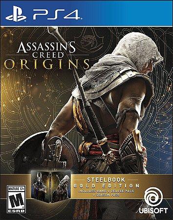 Assassins Creed Origins SteelBook Gold Edition - PS4