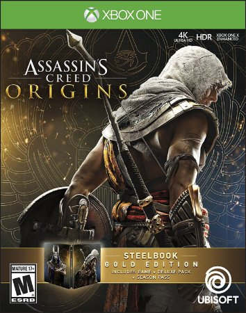 Assassins Creed Origins SteelBook Gold Edition - Xbox One